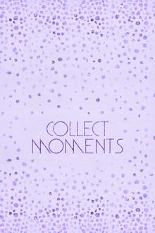 Melanie Viola, Textkunst Lila COLLECT MOMENTS (Deutschland, Europa)