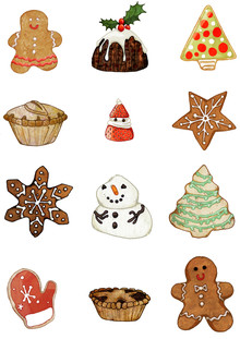 Katherine Blower, Christmas Treats (United Kingdom, Europe)