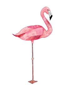 Katherine Blower, Pink Flamingo (, )