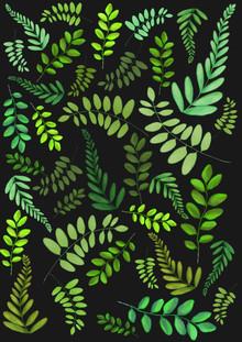 Plant Pattern - fotokunst von Katherine Blower