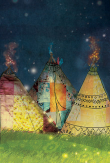 Katherine Blower, Patchwork Tipis (, )