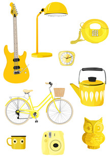 Katherine Blower, Retro Yellow (United Kingdom, Europe)