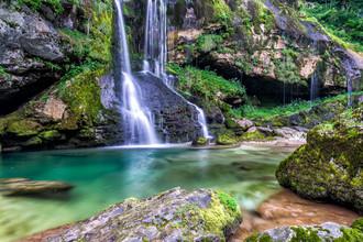 Günther Reissner, Virje Wasserfall (Slowenien, Europa)