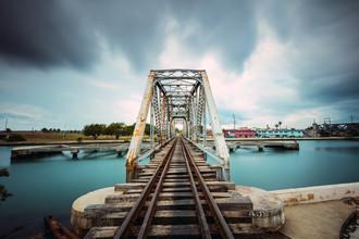 Franz Sussbauer, Eisenbahnbrücke (Kuba, Lateinamerika und die Karibik)