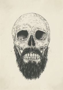 The beard is not dead - fotokunst von Balazs Solti
