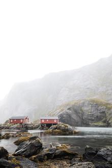 Sebastian Worm, Lofoten Bootshäuser (Norwegen, Europa)