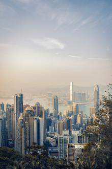 Pascal Deckarm, Sonnenuntergang über Hong Kong (Hong Kong, Asien)