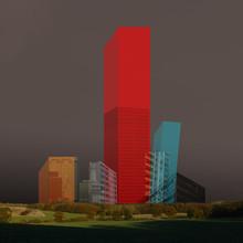 cube city - fotokunst von Marko Köppe