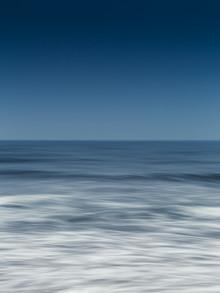 deep blue - fotokunst von Holger Nimtz