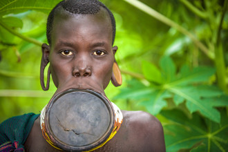 Miro May, Lippenteller (Äthiopien, Afrika)