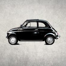 Steffi Louis, vintage car (Italy, Europe)
