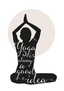 Yoga - fotokunst von Christina Ernst