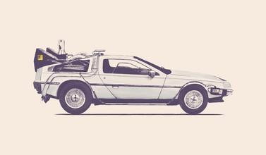 Florent Bodart, Back to the Future Delorean (Frankreich, Europa)