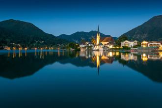 Martin Wasilewski, Sommerabend am Tegernsee (Deutschland, Europa)