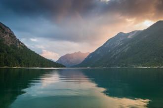Martin Wasilewski, Sommerabend am Plansee (Österreich, Europa)
