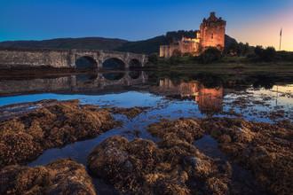 Jean Claude Castor, Eilean Donan Castle Sonnenuntergang (Großbritannien, Europa)