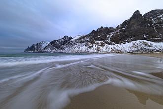 Dirk Heckmann, Strand von Ersfjord auf der Insel Senja (Norwegen, Europa)