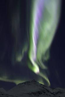 Dirk Heckmann, Farbenfrohes, aufsteigendes Polarlicht (Norwegen, Europa)