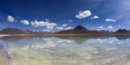 Dirk Heckmann, Lagoon on the Altiplano from Bolivia (Bolivia, Latin America and Caribbean)