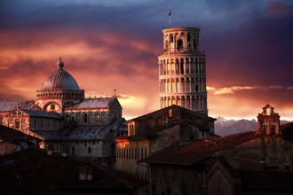Jürgen Wiesler, schiefe Turm von Pisa (Italy, Europe)