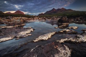 Jean Claude Castor, Schottland Sligachan Wasserfall auf der Isle of Skye (Großbritannien, Europa)