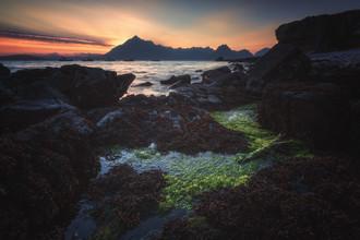 Jean Claude Castor, Elgol auf der Isle of Skye zum Sonnenuntergang (Großbritannien, Europa)