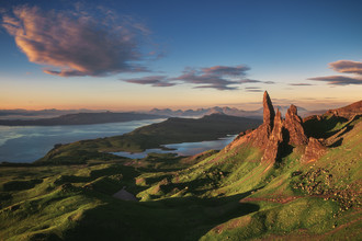 Jean Claude Castor, The Old Man of Storr am Morgen (Großbritannien, Europa)