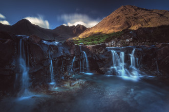 Jean Claude Castor, Fairy Pools auf der Isle of Skye (Großbritannien, Europa)
