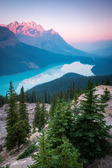 Christoph Schaarschmidt, peyto lake (Kanada, Nordamerika)