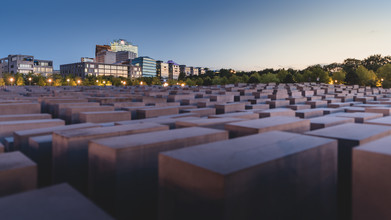 Ronny Behnert, Holocaust Mahnmal und Potsdamer Platz in Berlin (Germany, Europe)