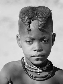 Phyllis Bauer, Girl from the Himba Tribe (Namibia, Africa)