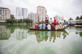 Miro May, Ferry in Dhaka (Bangladesh, Asia)