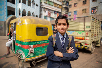 Miro May, Schoolboy (Indien, Asien)