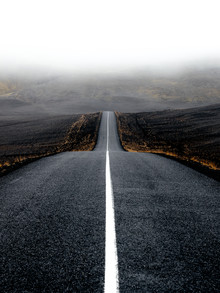 Lyes Kachaou, The road to the Highlands (Iceland, Europe)