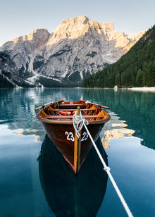 Lyes Kachaou, Canoe in the Dolomites (Italy, Europe)