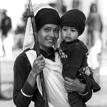 Jagdev Singh, Mutter (Bassas da India, Asien)