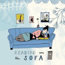 Constanze Guhr, Lesen! 2: Lesen auf dem Sofa (Deutschland, Europa)