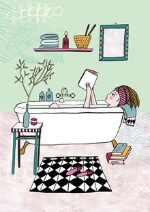 Constanze Guhr, Lesen! 3: Lesen in der Badewanne (, )