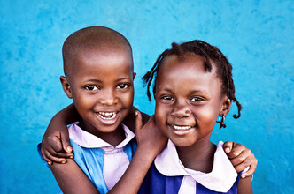 Victoria Knobloch, Happy children! (Uganda, Afrika)