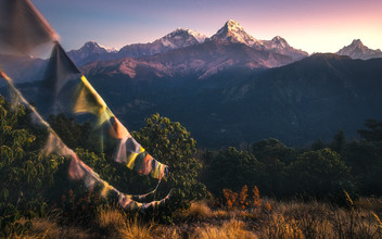 Martin Morgenweck, Flags&Top (Nepal, Asia)