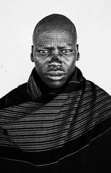 Victoria Knobloch, Karamojong Warrior (Uganda, Africa)