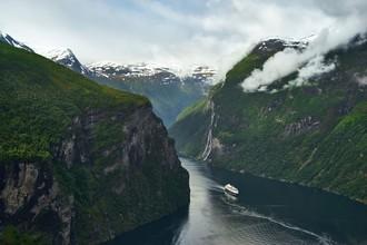Alex Wesche, Aufbruch zu neuen Ufern (Norwegen, Europa)