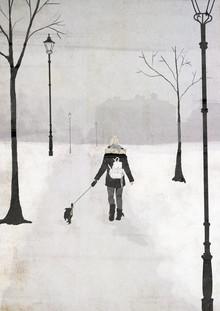 Katherine Blower, Winter Walk (Großbritannien, Europa)