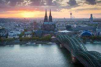 Martin Wasilewski, Köln am Abend (Deutschland, Europa)