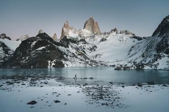 Ueli Frischknecht, Morgenwanderung zum Fitz Roy (Argentinien, Lateinamerika und die Karibik)
