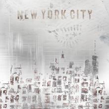 Melanie Viola, MODERN ART New York City Skylines shabby chic (Vereinigte Staaten, Nordamerika)