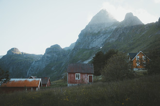 Philipp Heigel, FISHERMANS HOUSES. (Norway, Europe)