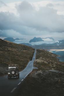 Philipp Heigel, TAKING THE SCENIC ROAD. (Norwegen, Europa)
