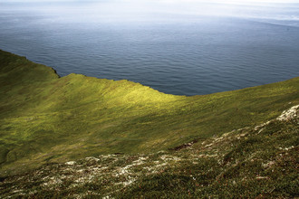 Franziska Söhner, Cliff, Iceland (2013) (Iceland, Europe)