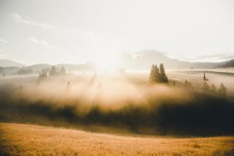 Sonnenaufgang - fotokunst von Dorian Baumann